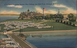 U.S. Naval Training Station, War College and Drill Field