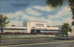 St. Martha's School Postcard