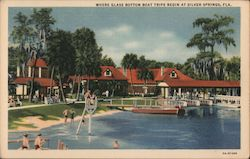 Where Glass Bottom Boat Trips Begin at Silver Springs, Fla.