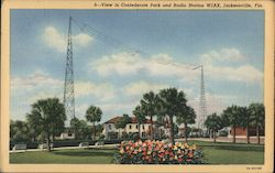 Confederate Park and Radio Station WJAX