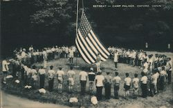 Retreat - Camp Palmer Postcard