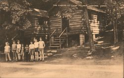 The Cabins at Camp Palmer Postcard