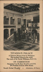 Titania's Palace A Treasure House of Art in Miniature Sir Nevile Wilkinson