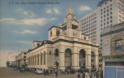 Gesu Catholic Church Postcard