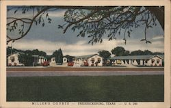 Miller's Courts Postcard