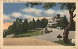 High Point Park, Showing Lodge