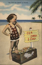 """She Sells Sea Shells"" Postcard"