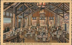Dining Room, Grand Canyon Lodge, North Rim, Grand Canyon National Park