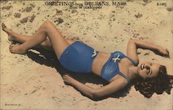 Greetings - Sun Worshipper Postcard