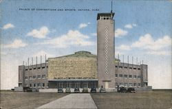 Palace of Conventions and Sports Postcard