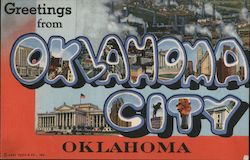 Greetings from Oklahoma City, Oklahoma