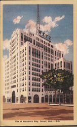 View of Macabee's Building, Home of WXYZ