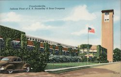 Crawfordsville, Indiana Plant of R.R. Donnelley & Sons Company Postcard