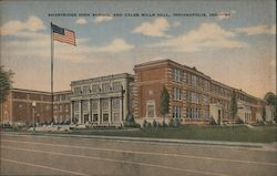 Shortridge High School and Caleb Mills Hall