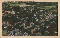 Airplane View of Princeton University