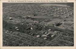 Air View of Continental Oil Company and Cities Service Oil Company