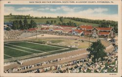 Race Track and Fair Grounds, South Park, Allegheny County