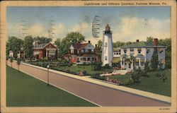 Lighthouse and Officers Quarters