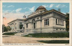 Carnegie Public Library and U.S. Post Office