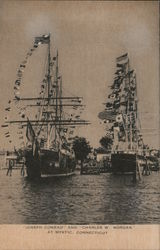 Ships Joseph Conrad and Charles W. Morgan