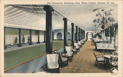 The Greenbrier Swimming Pool, While Sulphur Springs, W. Va