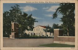 Entrance and Main Building, Allen Military Academy