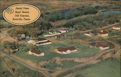 Aerial View, Boys' Ranch, Old Tascosa
