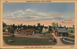 Famous Botanical Rock Garden, Laurel Land Memorial Park