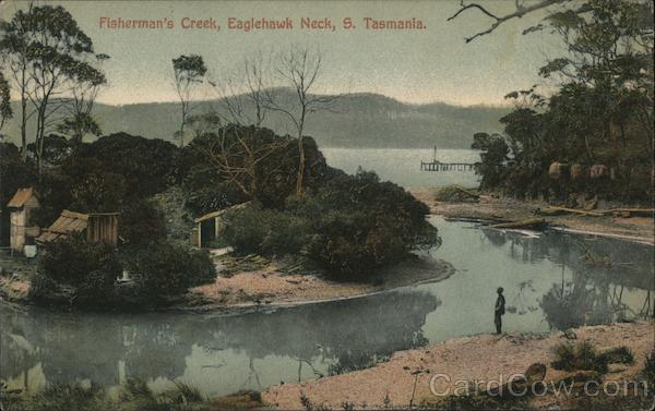 Fisherman's Creek, Eaglehawk Neck, S Tasmania Australia