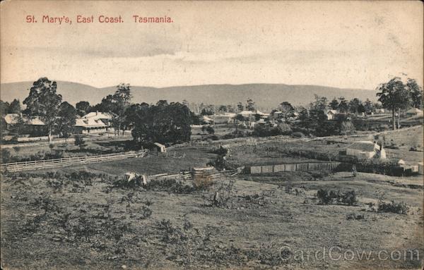 St. Mary's, East Coast Tasmania Australia