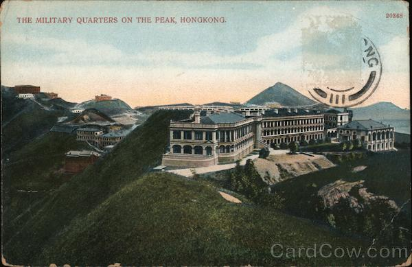 The Military Quarters on the Peak Hong Kong China