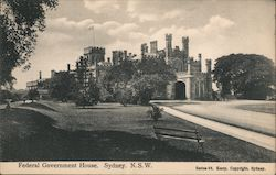 Federal Government House, N.S.W. Postcard
