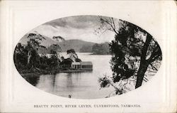 Beauty Point, River Leven, Ulverstone Tasmania. Postcard