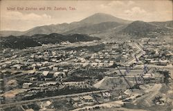 West End Zeehan and Mt. Zeehan, Tas. Postcard