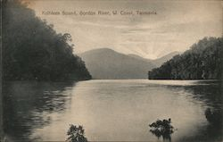 Kathleen Sound, Gordon River, W.Coast Tasmania Postcard
