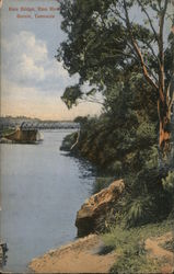 Emu Bridge, Emu River, Tasmania Postcard