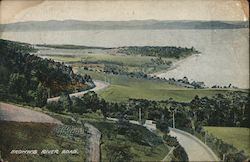 Brown's river road Postcard