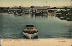 "Boating at ""Redhouse"", near Port Elizabeth Postcard"