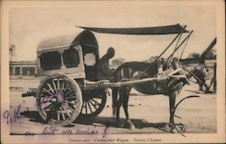 Chinese Cart Postcard