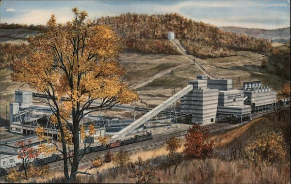 Loveridge Mine of the Consolidation Coal Company Fairview West Virginia