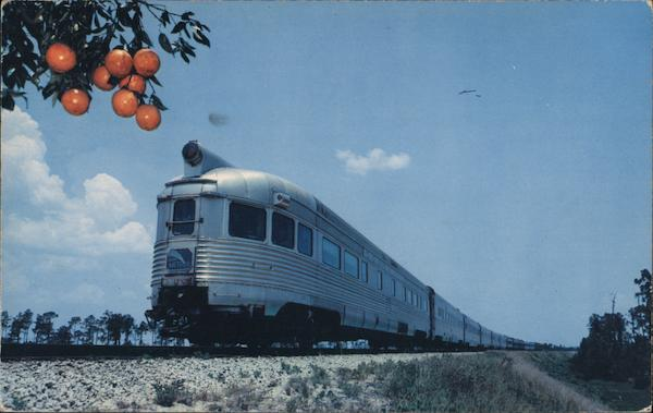 The Silver Meteor Trains, Railroad
