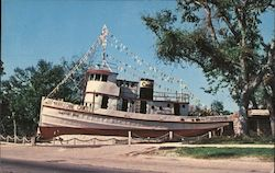 Seventy-Two Foot Steel Tugboat Washed Ashore