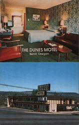 The Dunes Motel Postcard