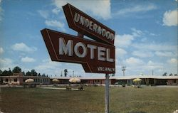 Underwood Motel Postcard