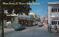 View Down Main Street in Charlotte Amalie