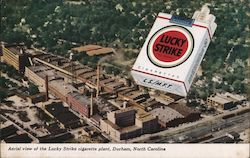 Aerial View of the Lucky Strike Cigarette Plant