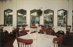 Hotel Thayer Dining Rooms Postcard
