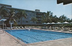 Swimming Pool at the Fabulous Mayaguez Hilton Postcard