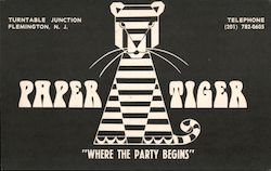 "Paper Tiger ""Where The Party Begins"" Postcard"