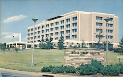 Sacred Heart Hospital Atop Haystack Mts. Postcard